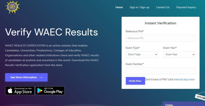 buy WAEC Result Verification Pin