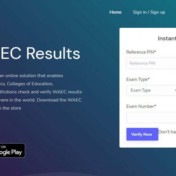 buy WAEC Result Verification Pin