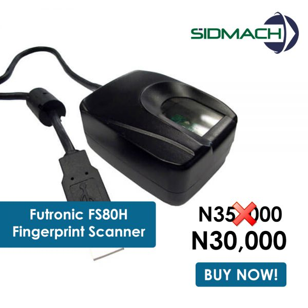 FS80H futronic fingerprint scanner